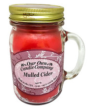 Mulled Cider Scented 13 Ounce Mason Jar Candle By Our Own Candle Company
