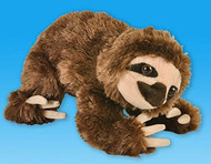 "1 X 8"" Brown Sloth Bear Plush Stuffed Animal Toy"