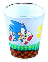 Sonic the Hedgehog Somnic Running Shot Glass