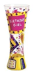 Lolita from Enesco Birthday Girl Sexy Shooter Glass, Multicolor