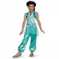 Disguise Jasmine Classic Disney Princess Aladdin Costume, One Color, X-Small/3T-4T