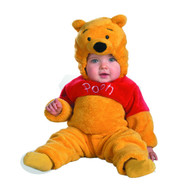 Winnie The Pooh Deluxe Two-Sided Plush Jumpsuit Costume Size: 2T