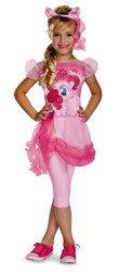 Disguise Hasbro's My Little Pony Pinkie Pie Classic Girls Costume, Medium/3T-4T