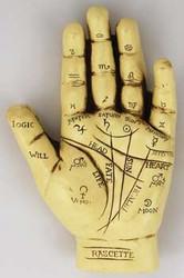 1 X Palmistry Hand *
