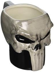 Zak Designs DDTA-1590 Daredevil TV Punisher Ceramic sculpted Mug, Multicolor