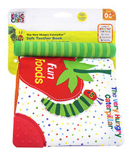 Kids Preferred Fun Foods Teether Soft Book, The Very Hungry Caterpillar (Disc...