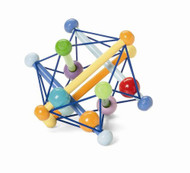 Manhattan Toy Skwish Color Burst Rattle and Teether Grasping Activity Toy