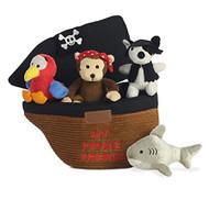 Aurora World Baby Talk Carrier My Pirate Ship Playset