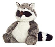 "Aurora World Sweet and Softer 12"" Rocky Raccoon Plush Toy Animal"