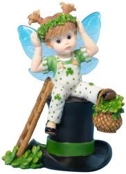 Enesco My Little Kitchen Fairies St. Patricks Day Figure