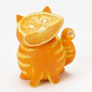 Home Grown from Enesco Orange Tabby Cat Figurine 3.2 IN