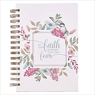 Let Your Faith Be Bigger Hardcover Spiral Journal
