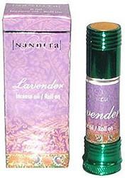 Lavender - Nandita Incense Oil/Roll On - 1/4 Ounce Bottle