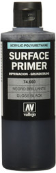 Vallejo Gloss Black Primer 200ml Paint