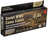 Vallejo Soviet Afv WWII Camo Colors Paint