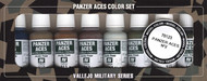 Vallejo Panzer Aces No #2 Paint Set, 17ml