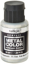 Vallejo Pale Burnt Metal Color 32ml Paint