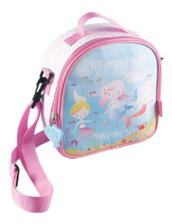 Mermaid Under the Sea 8.5 Inch Insulated Lunch Bag with Detachable Strap
