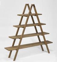 Tripar 55 Inch Wood Ladder Display Rack