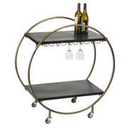 Tripar Retro Rolling Bar Cart