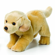 Nat and Jules Standing Large Yellow Labrador Dog Children's Plush Stuffed Animal Toy