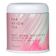 Par Avion Tea Macaron Collection Lavender Early Grey Macaron - Small Batch Loose Leaf Tea in Artisan Tin - 2oz