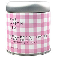 Par Avion Tea Pie Collection - Small Batch Loose Leaf Tea in Artisan Tin - 2oz (Strawberry Cream Pie)