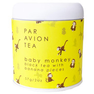 Par Avion Tea Baby Monkey - Black Tea with Banana Pieces - 2 oz