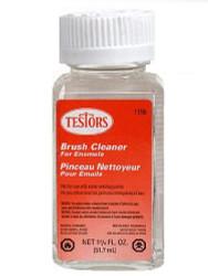 Testors Enamel Plastic Model Paint Thinner & Brush Cleaner, 1.75 oz