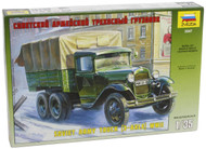 Zvezda Models GAZ-AAA Soviet Truck (3-Axle)