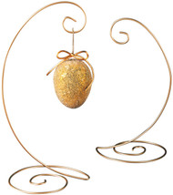 Tripar Large Durable Gold Spiral Ornament Display Stand for Home, Wedding Decoration