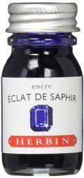 Herbin Fountain Pen Ink - 10ml Bottle - Eclat de Saphir