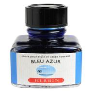 Herbin Fountain Pen Ink - 30ml Bottle - Bleu Azur