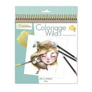 Avenue Mandarine Collector's Coloring Book - 9 6 x 7 7/8 x 2/5 - Wild 3