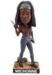 Royal Bobbles The Walking Dead Michonne Bobblehead