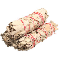 Organic California White Sage Smudge Bundles (Pack of 12)