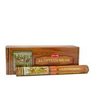 Egyptian Musk - Box of Six 20 Gram Tubes - HEM Incense