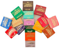 Incense Matches: Lot of 10 Assorted Variety Scented Match Books, 300 strikes!