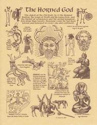 AzureGreen EPHOR Horned God Poster