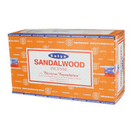 Satya Sandalwood Incense Sticks, 180 grams