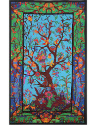 Sunshine Joy 3D Tree Of Life Tapestry Wall Hanging Table Cloth Magical Dorm D...