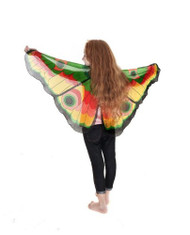 Dreamy Dress-Up Yellow Butterfly Wings