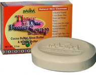 Madina Three in One Butter Soap, 3.5 oz, Pack of 6