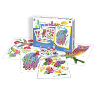 SentoSphere In the Park Artistic Junior Watercolor Art Kit with 4 magic canvases