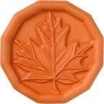JBK Oak Leaf Terra Cotta Brown Sugar Saver