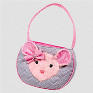 Douglas Cuddle Toys Madeline PINK/GRAY MOUSE BAG (1105)