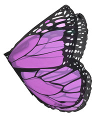 Purple Monarch Wings