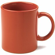 Teaz Cafe 11 oz. Classic Mug [Set of 4] Color: Cinnamon