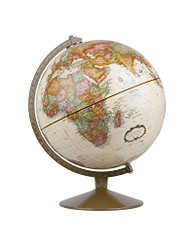 Replogle Franklin Desktop Globe, Antique