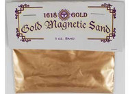 1618 Gold Magnetic Sand (Lodestone Food) 1 oz
